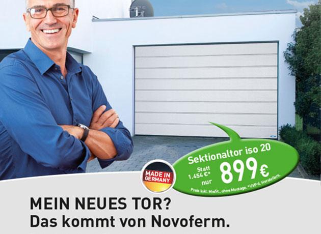 Novoferm Garagentore in der Frühjahrsaktion!