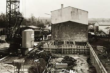 Nach den Rückschlägen des Zweiten Weltkrieges beginnt der Wiederaufbau