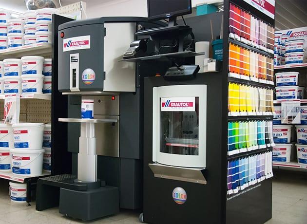 Neu: Unser individueller Farbmischservice!