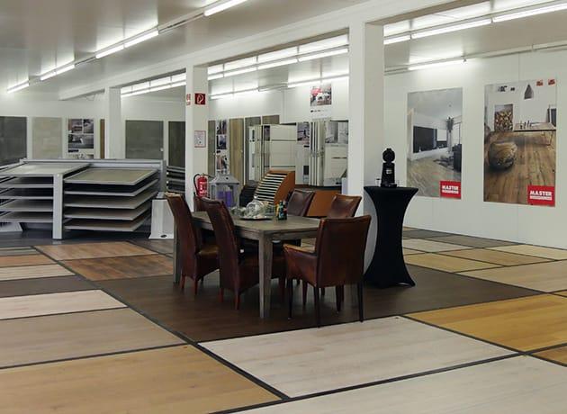 Neu in Aachen-Eilendorf: Ausstellung Holzböden
