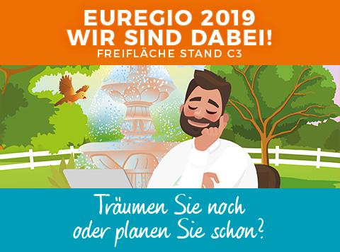 Wir sind auf der EUREGIO 2019!