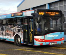 Neue Buswerbung