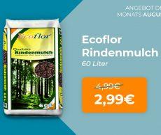 Monats-Angebot im August: Rindenmulch